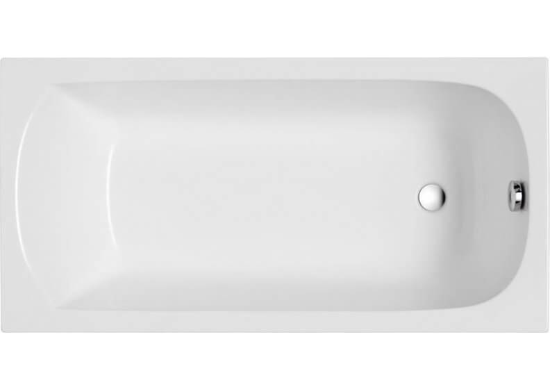 Acrylic rectangular bathtub 160 x 70 cm CLASSIC