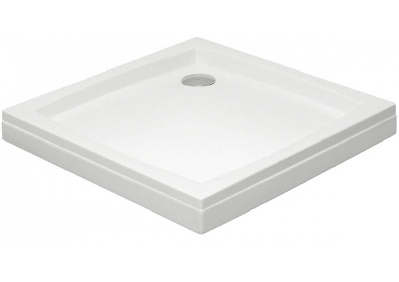 Acrylic housing for square shower base 80 x 80 x 5 cm PATIO