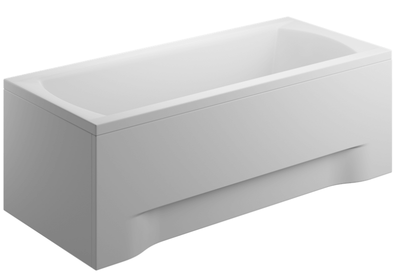 Acrylic housing for rectangular bathtub - front panel  180 cm size 58 cm