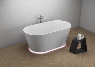 Freestanding bathtub IDA