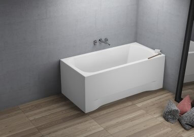 Acrylic rectangular bathtub CLASSIC