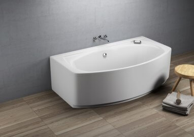 Acrylic rectangular bathtub ELEGANCE