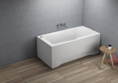 Acrylic rectangular bathtub STANDARD