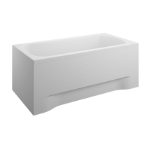 Acrylic housing for rectangular bathtub - front panel  160 cm front 52 cm