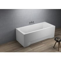 Acrylic rectangular bathtub 180 x 80 cm INES