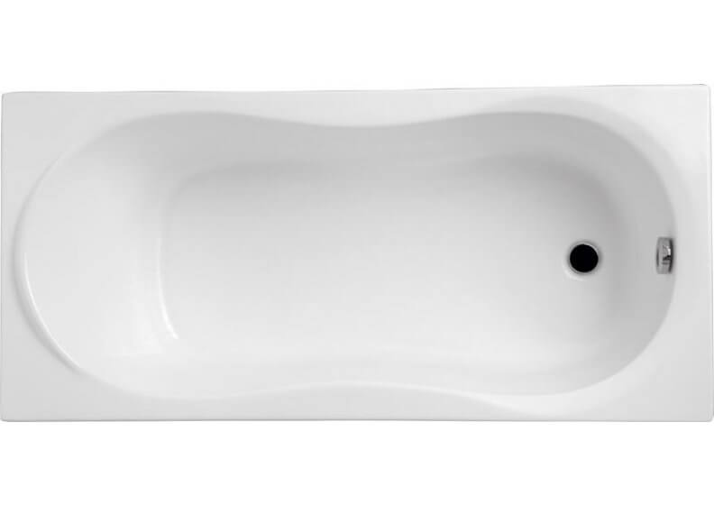 Acrylic rectangular bathtub 160 x 70 cm GRACJA