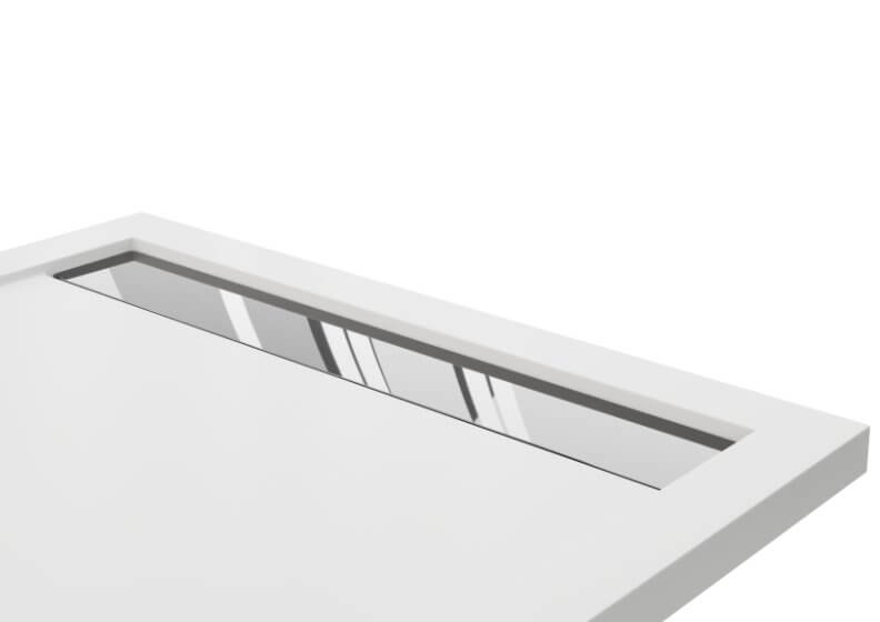 Grate for shower tray WEST NEW stainless steel chrome