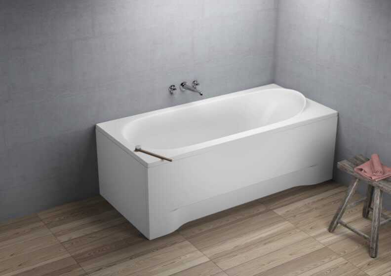 Acrylic rectangular bathtub MEDIUM