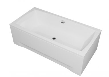 Acrylic housing for rectangular bathtub – front panel  140 cm size 42 cm