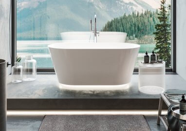 Freestanding bathtub IDA 150 x 75 cm
