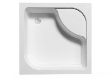 Square shower base TAKO