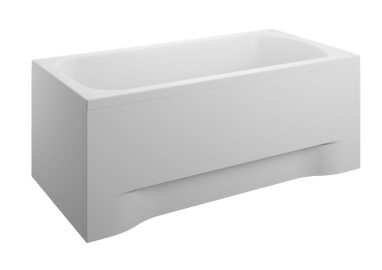 Acrylic housing for rectangular bathtub - front panel 120 cm size 51 cm