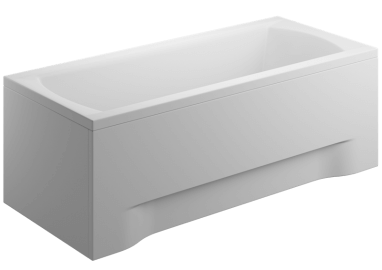 Acrylic housing for rectangular bathtub - side panel  75 cm size 58 cm