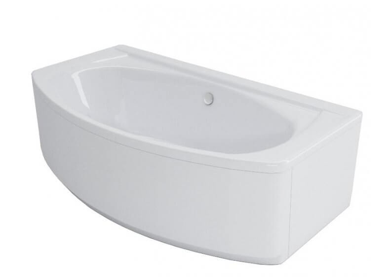 Acrylic housing for rectangular bathtub - side panel 100 cm ELEGANCE